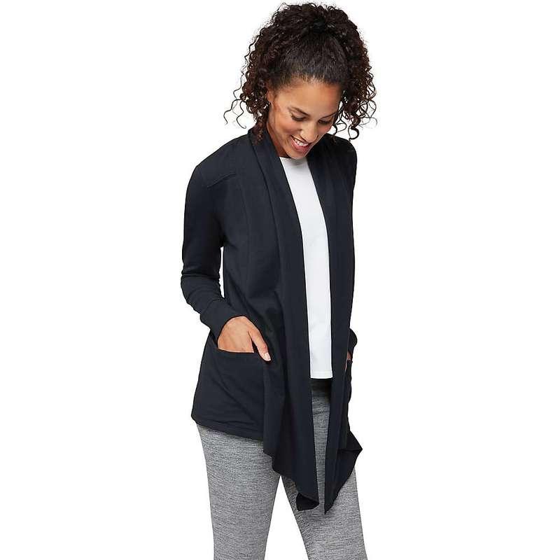 マンデュラ レディース ニット・セーター アウター Manduka Women's Resolution Pocket Cardigan Black