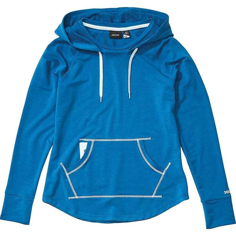 マーモット レディース パーカー・スウェット アウター Marmot Women's La Linea Pullover Classic Blue