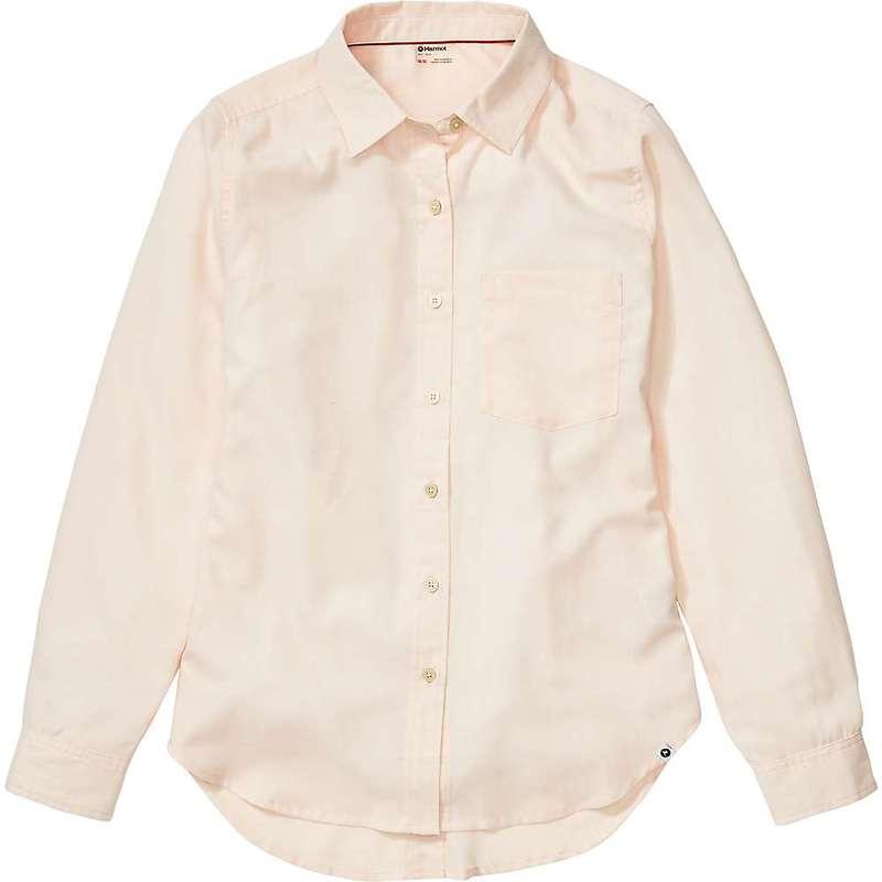 マーモット レディース シャツ トップス Marmot Women's Seaside Ultra Lightweight Flannel LS Shirt Mandarin Mist