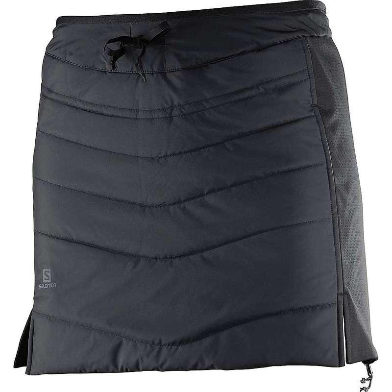 サロモン レディース スカート ボトムス Salomon Women's Drifter Mid Skirt Black
