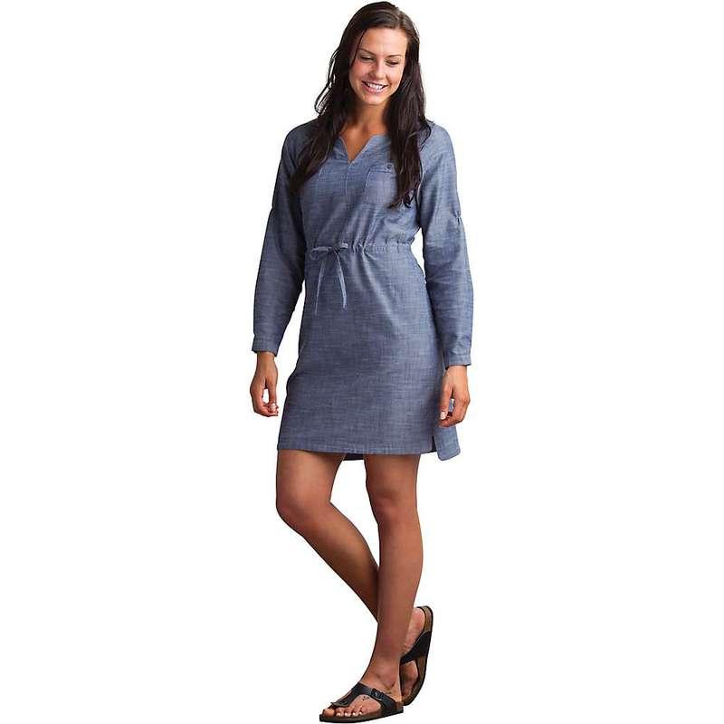 エクスオフィシオ レディース ワンピース トップス ExOfficio Women's Sol Cool Chambray Dress Indigo
