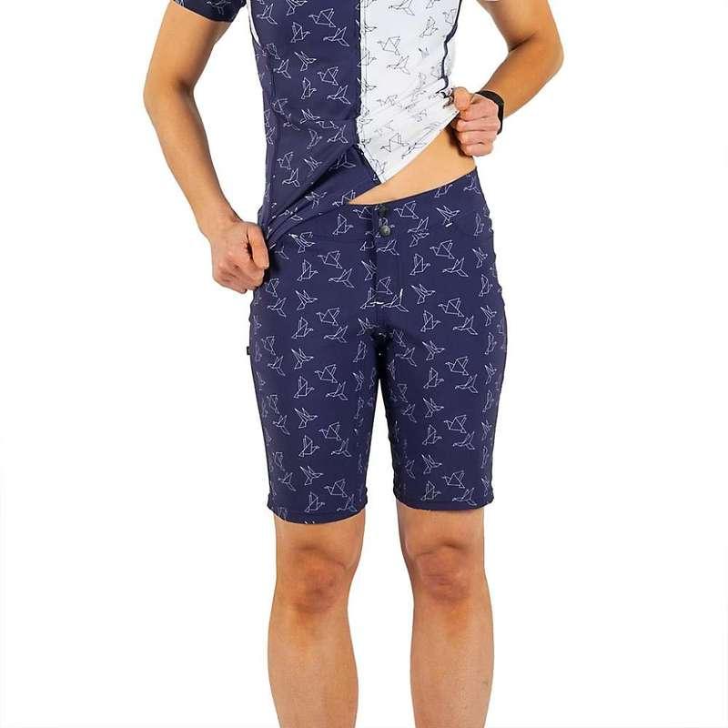シービースト レディース ハーフパンツ・ショーツ ボトムス Shebeest Women's Skinny Americano Plus Size Short In Flight / Navy