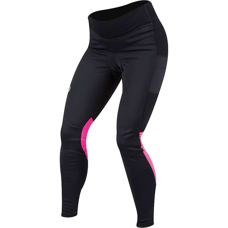 パールイズミ レディース カジュアルパンツ ボトムス Pearl Izumi Women's ELITE Escape AmFIB Cycling Tight Black/Screaming Pink