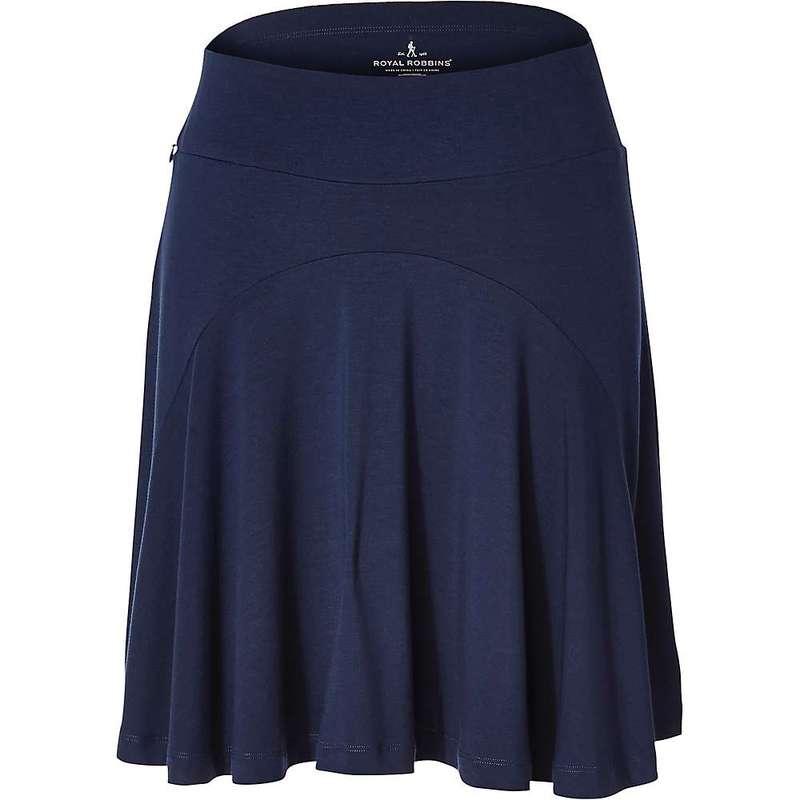 送料無料 サイズ交換無料 ロイヤルロビンズ レディース ボトムス スカート 在庫一掃売り切りセール Deep Robbins Essential Skirt Women's 毎日がバーゲンセール Tencel Blue Royal