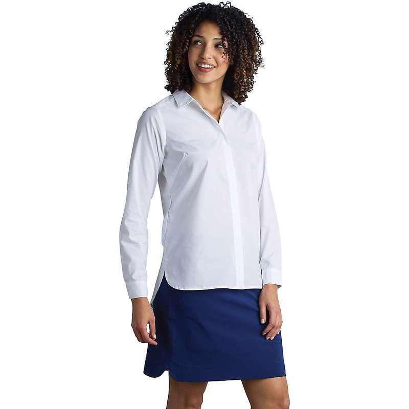 エクスオフィシオ レディース シャツ トップス ExOfficio Women's Sofia LS Shirt White