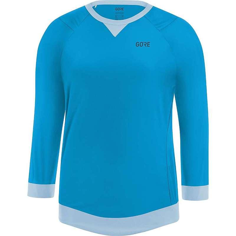 ゴアウェア レディース シャツ トップス Gore Wear Women's Gore C5 All Mountain 3/4 Jersey Dynamic Cyan / Ciel Blue