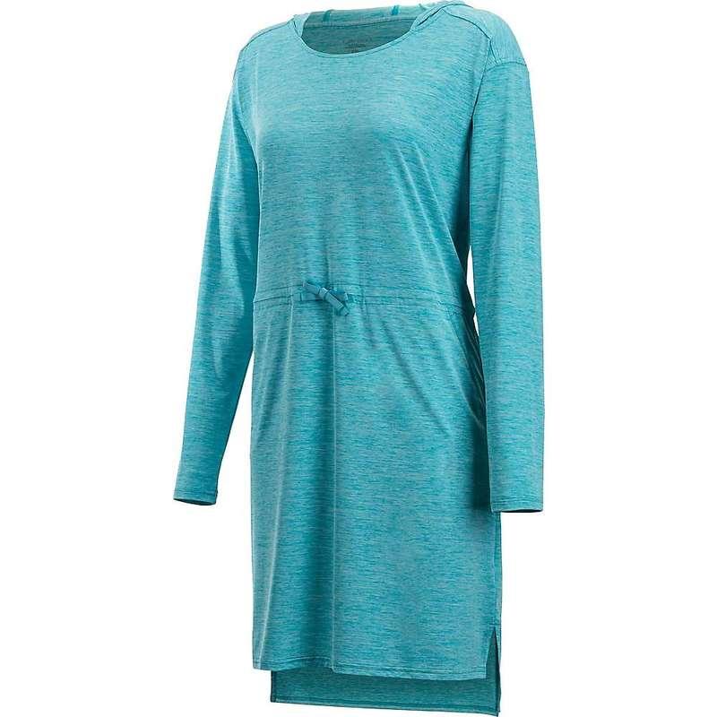 エクスオフィシオ レディース ワンピース トップス ExOfficio Women's Sol Cool Kaliani Hoody Dress Algiers Blue