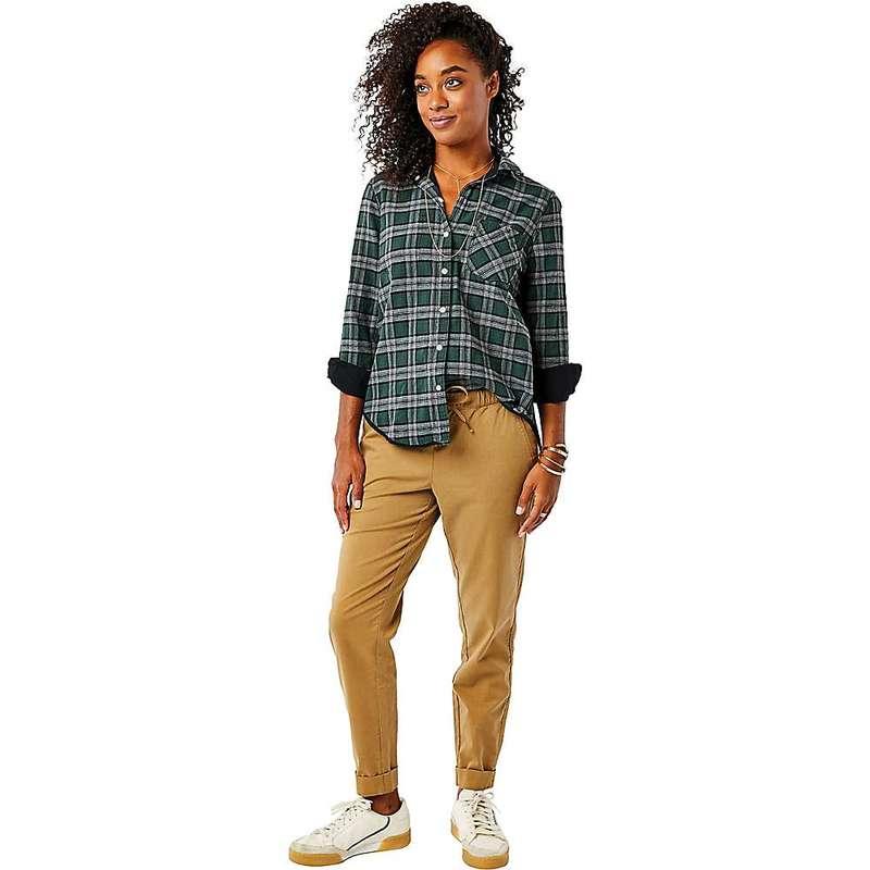 カーブデザイン レディース シャツ トップス Carve Designs Women's Lydia Button Down Shirt Black / Malacite Plaid