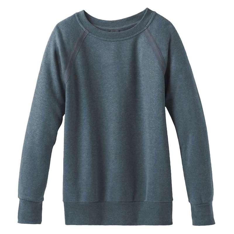 プラーナ レディース パーカー・スウェット アウター Prana Women's Cozy Up Sweatshirt Plus Grey Blue Heather