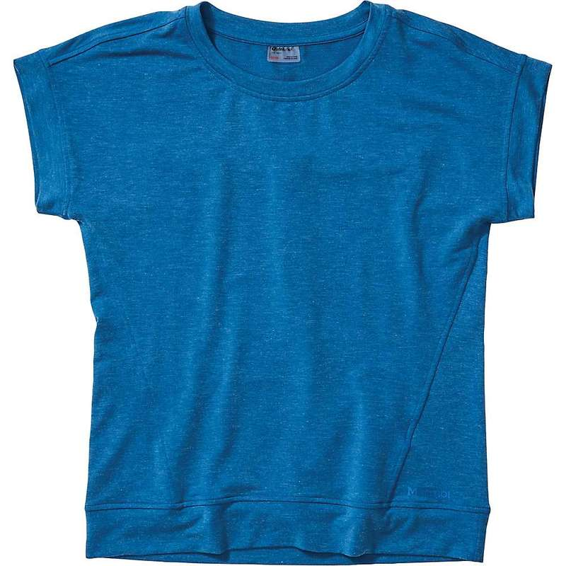 マーモット レディース Tシャツ トップス Marmot Women's Morgan SS Top Classic Blue Heather