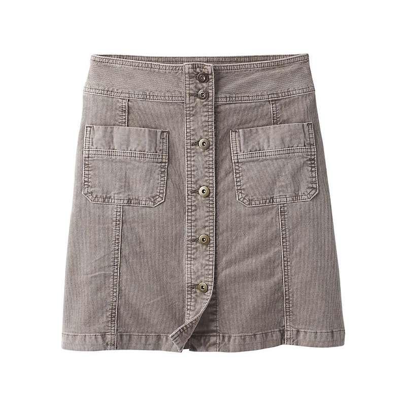 プラーナ レディース スカート ボトムス Prana Women's Merrigan Skirt Mud