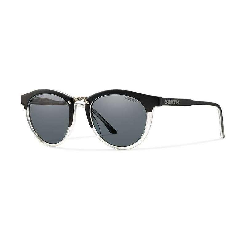 スミス レディース サングラス・アイウェア アクセサリー Smith Questa Polarized Sunglasses Matte Black Crystal / Polarized Grey