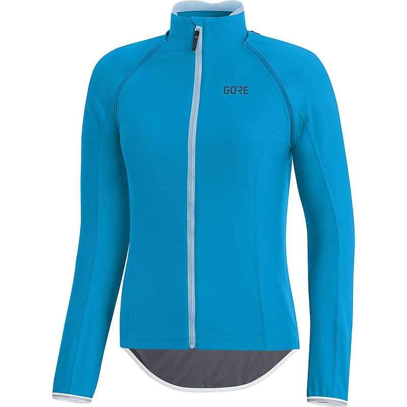 ゴアウェア レディース シャツ トップス Gore Wear Women's Gore C3 Gore Windstopper Zip Off Jersey Dynamic Cyan