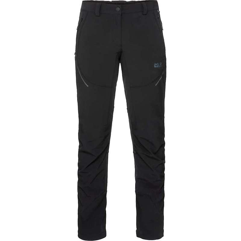 ジャックウルフスキン レディース カジュアルパンツ ボトムス Jack Wolfskin Women's Gravity Slope Pants Black