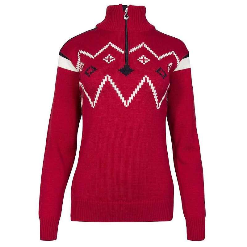 ダールオブノルウェイ レディース ニット・セーター アウター Dale Of Norway Women's Seefeld Feminine Sweater Raspberry / Navy / Off White