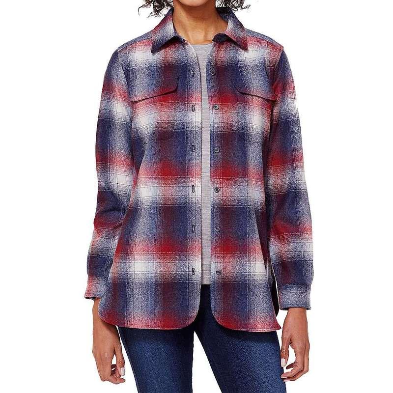 ペンドルトン レディース シャツ トップス Pendleton Women's Board Shirt Red / Blue Ombre