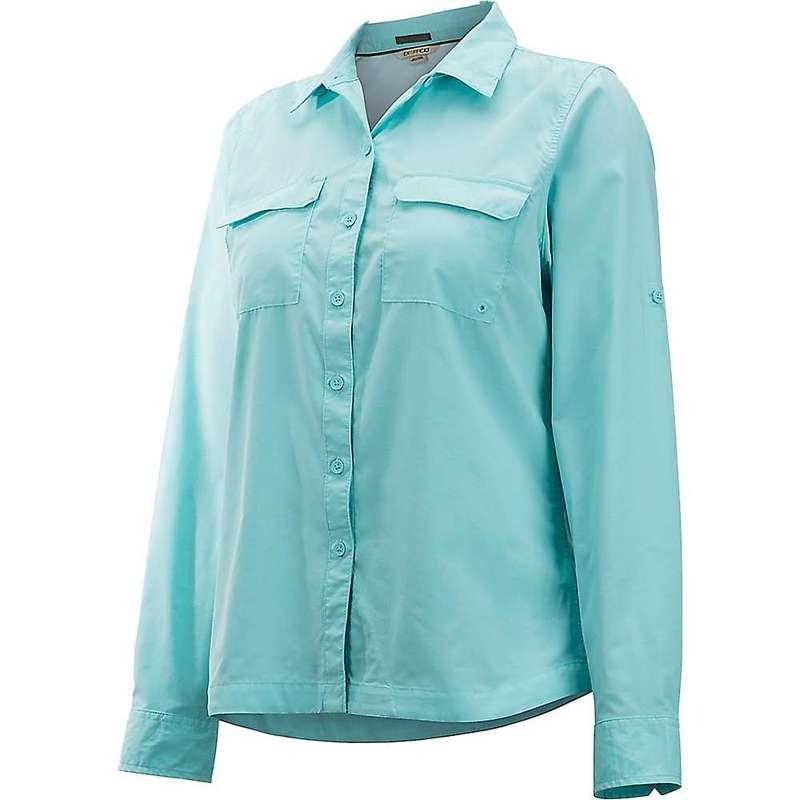 エクスオフィシオ レディース シャツ トップス ExOfficio Women's Missoula LS Shirt Mystic Blue
