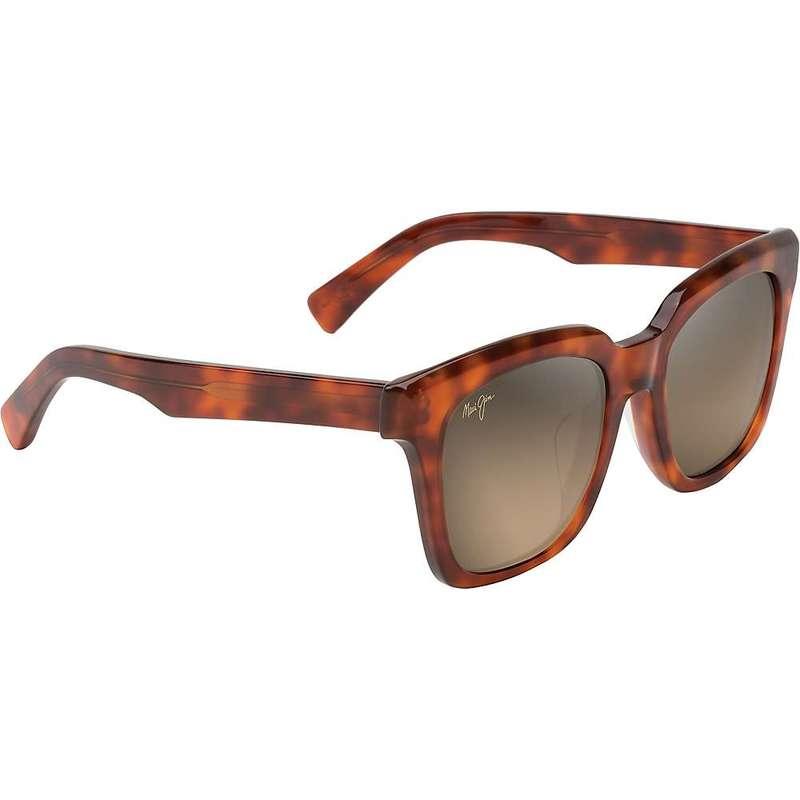 マウイジム レディース サングラス・アイウェア アクセサリー Maui Jim Women's Heliconia Polarized Sunglasses Koa Tortoise/HCL Bronze