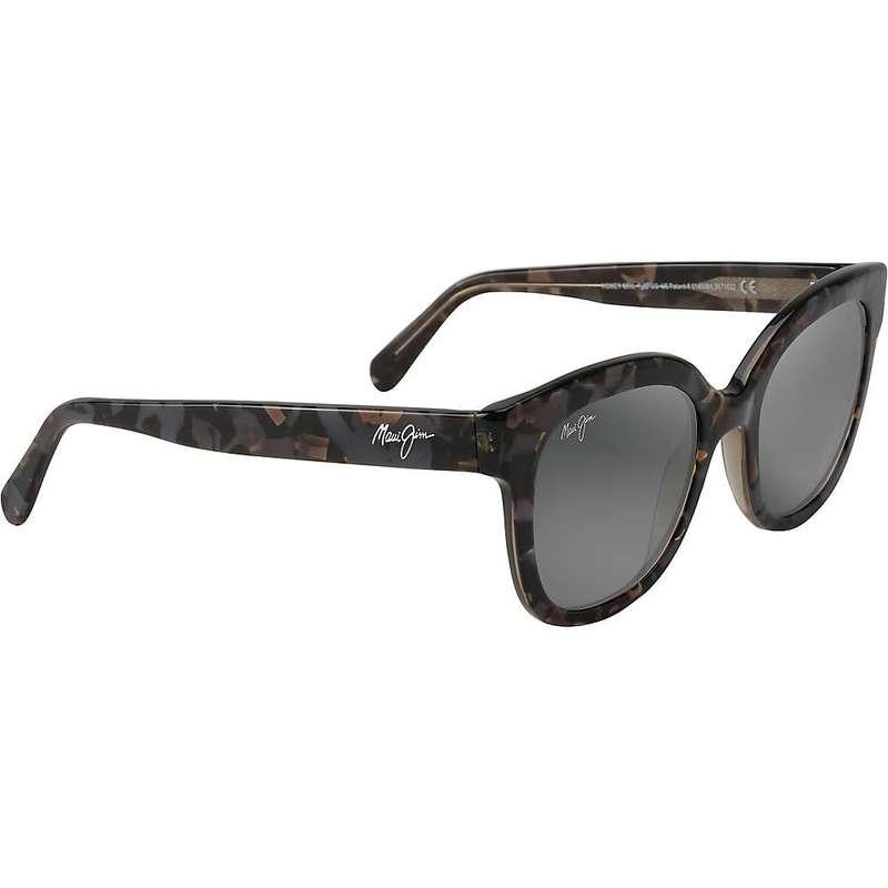 マウイジム レディース サングラス・アイウェア アクセサリー Maui Jim Women's Honey Girl Polarized Sunglasses Dove Grey/Neutral Grey