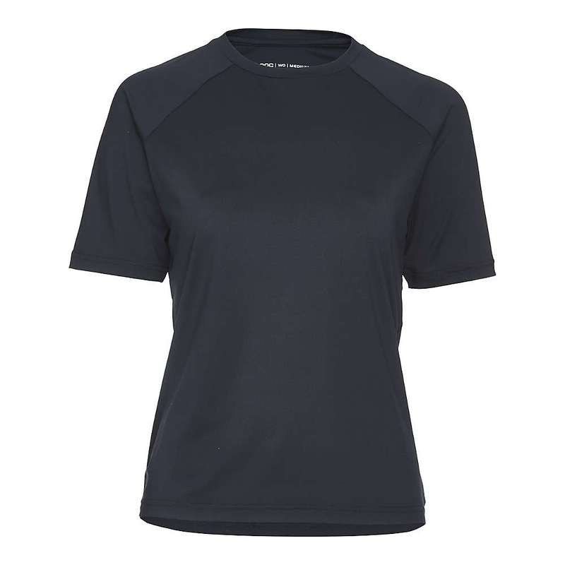 ピーオーシー レディース Tシャツ トップス POC Sports Women's Essential MTB Tee Uranium Black
