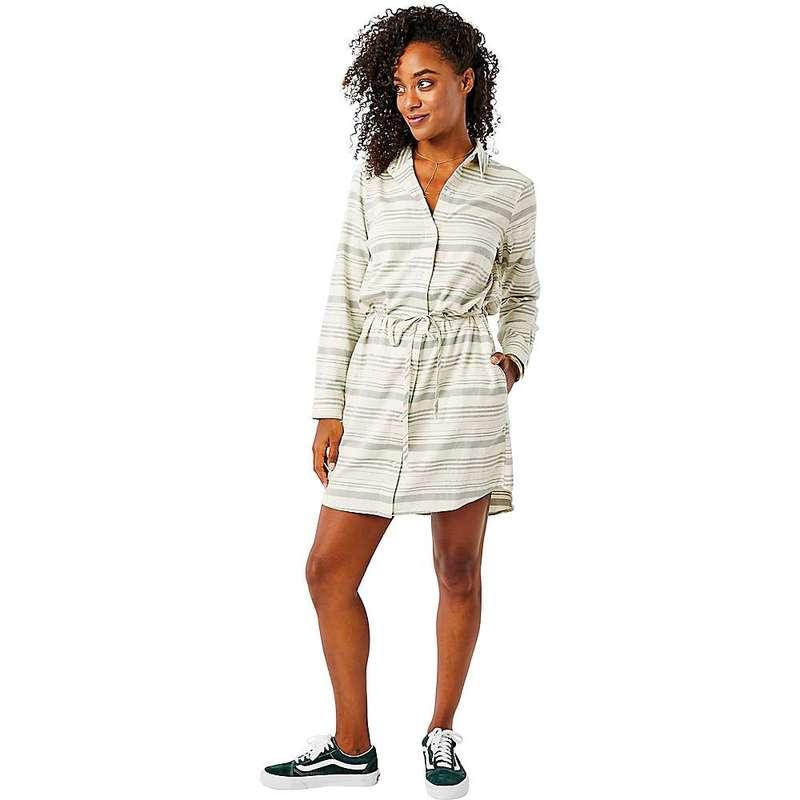 カーブデザイン レディース ワンピース トップス Carve Designs Women's Aida Dress Moss Stripe