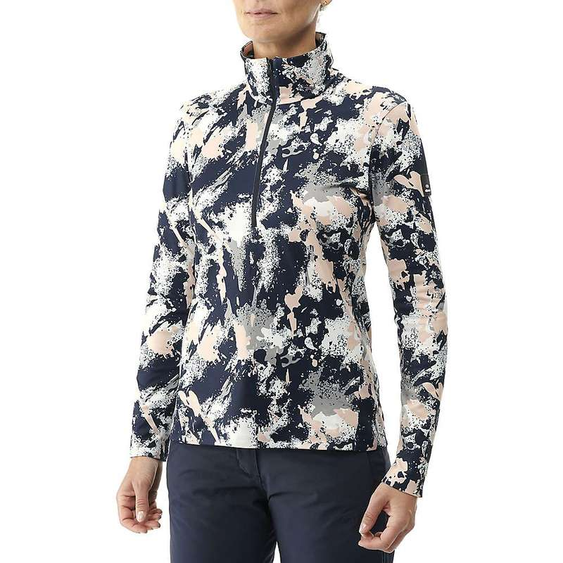 アイダー レディース シャツ トップス Eider Women's Way 1/2 Zip Print Top Cameo Rose/Camo Print