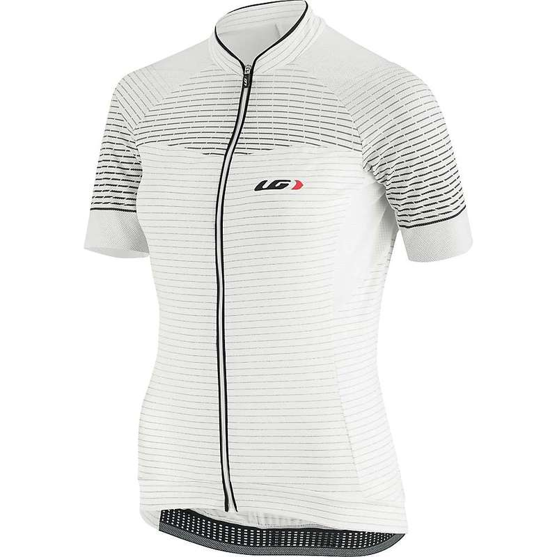 イルスガーナー レディース シャツ トップス Louis Garneau Women's Stunner RTR Jersey Black / Iron Grey
