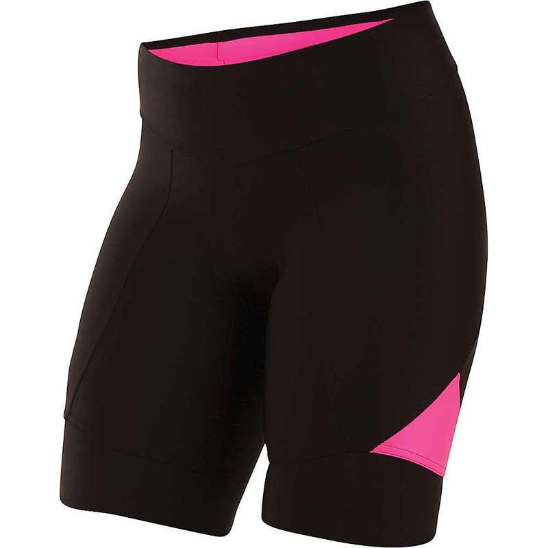 パールイズミ レディース ハーフパンツ・ショーツ ボトムス Pearl Izumi Women's SELECT Pursuit 8.5 Inch Short Black/Screaming Pink