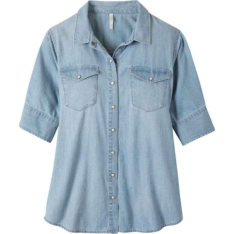 マウンテンカーキス レディース シャツ トップス Mountain Khakis Women's Haven Shirt Light Wash