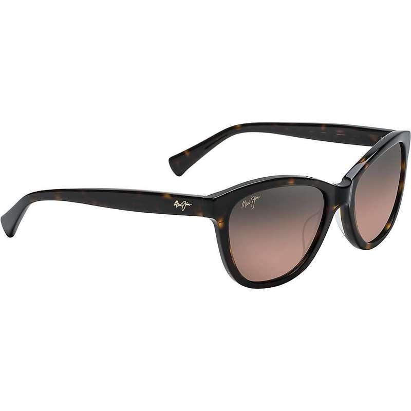 マウイジム レディース サングラス・アイウェア アクセサリー Maui Jim Women's Canna Polarized Sunglasses Dark Tortoise/Maui Rose