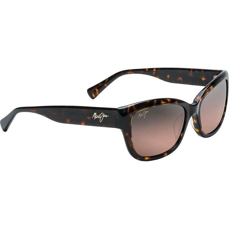マウイジム レディース サングラス・アイウェア アクセサリー Maui Jim Women's Plumeria Polarized Sunglasses Dark Tortoise/Maui Rose