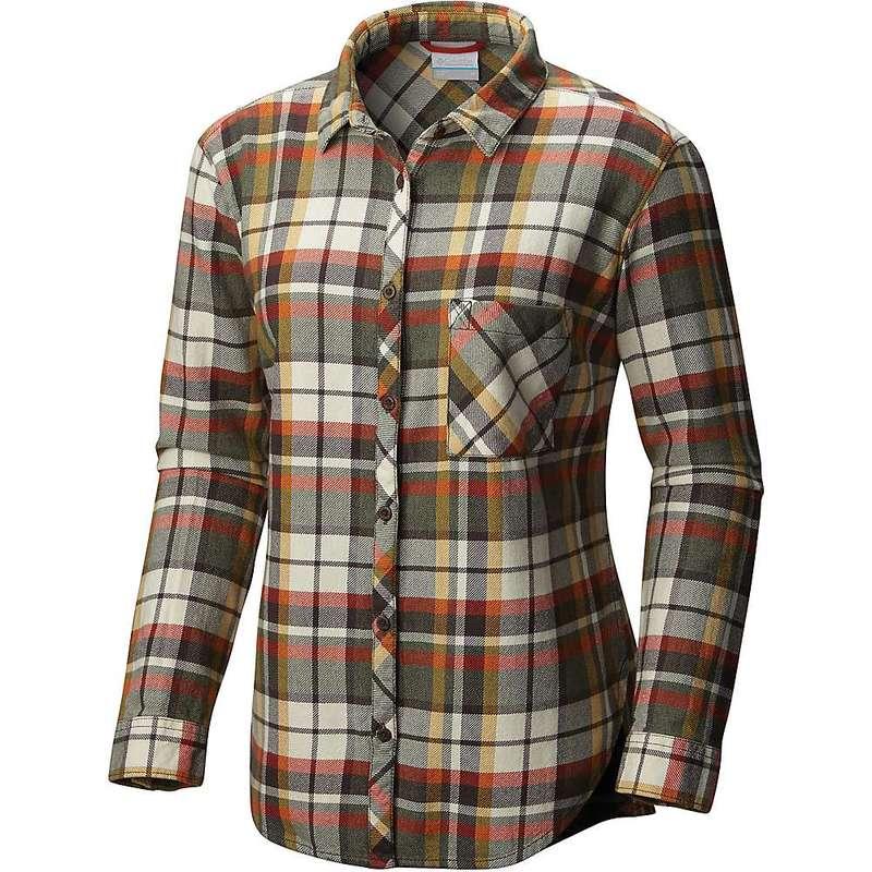 コロンビア レディース シャツ トップス Columbia Women's Deschutes River Flannel LS Shirt Gravel