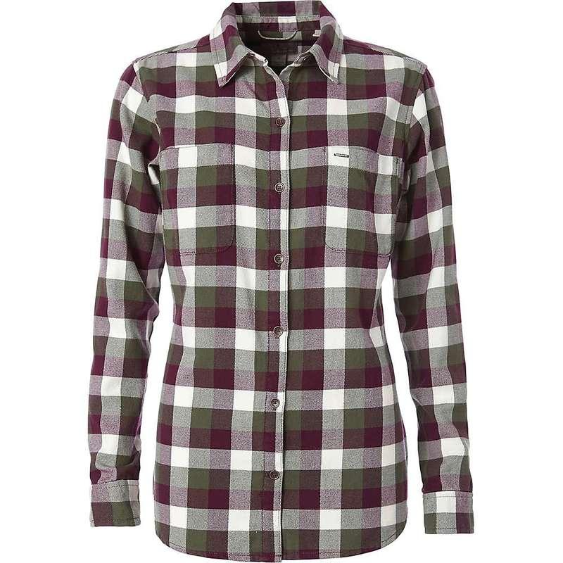 ロイヤルロビンズ レディース シャツ トップス Royal Robbins Women's Lieback Flannel LS Shirt Bayleaf