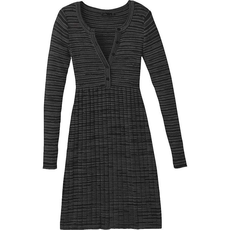 プラーナ レディース ワンピース トップス Prana Women's Leandra Dress Black