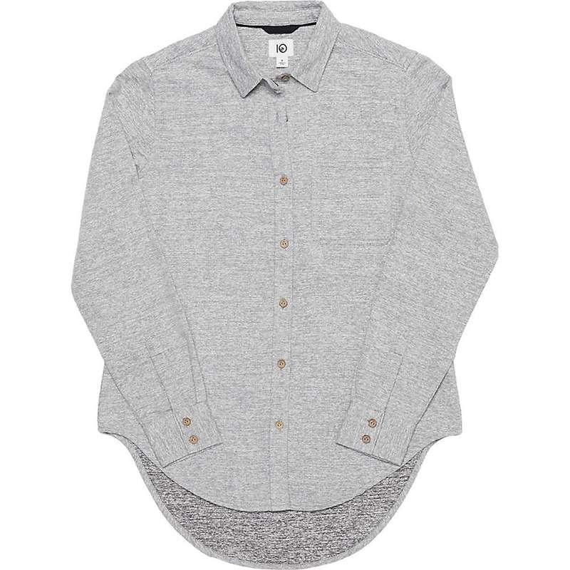 テンツリー レディース シャツ トップス Tentree Women's Courtenay LS Button Up Shirt Lunar Rock