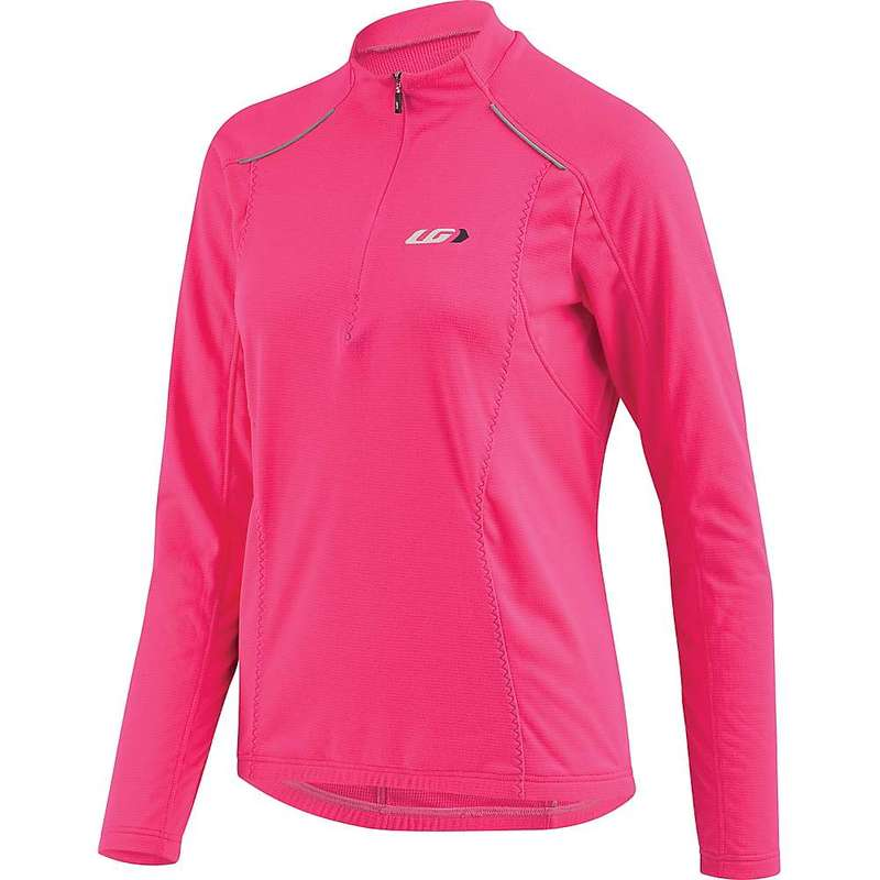 イルスガーナー レディース シャツ トップス Louis Garneau Women's Edge CT Jersey Pink Glow