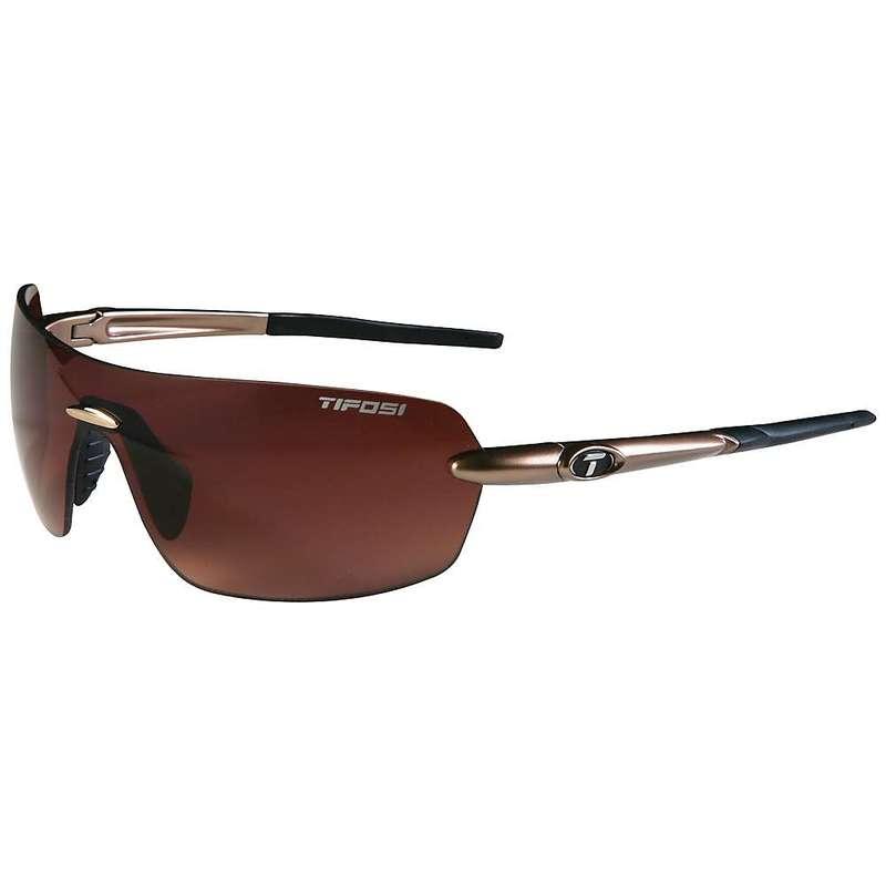 テフォシー レディース サングラス・アイウェア アクセサリー Tifosi Women's Vogel Sunglasses Gold / Brown Gradient