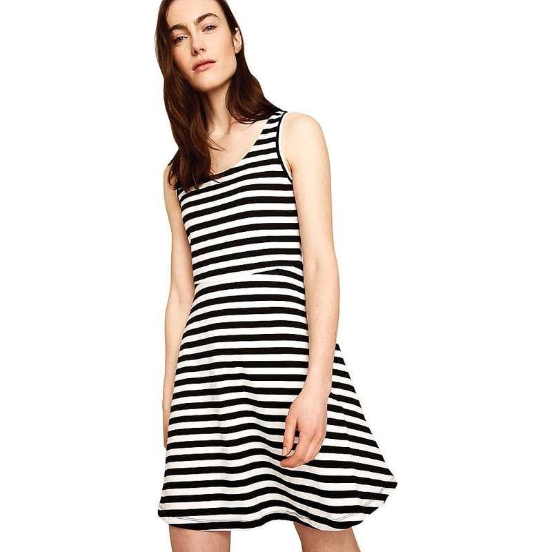 ロル レディース ワンピース トップス Lole Women's Saffie Dress Black White Stripes