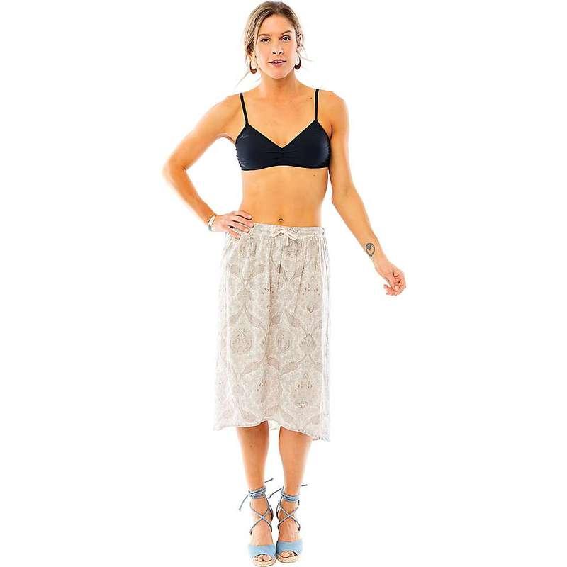 カーブデザイン レディース スカート ボトムス Carve Designs Women's Cameron Skirt Olive Paisley