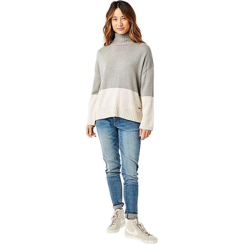 カーブデザイン レディース ニット・セーター アウター Carve Designs Women's Montrose Turtleneck Sweater Limestone Heather
