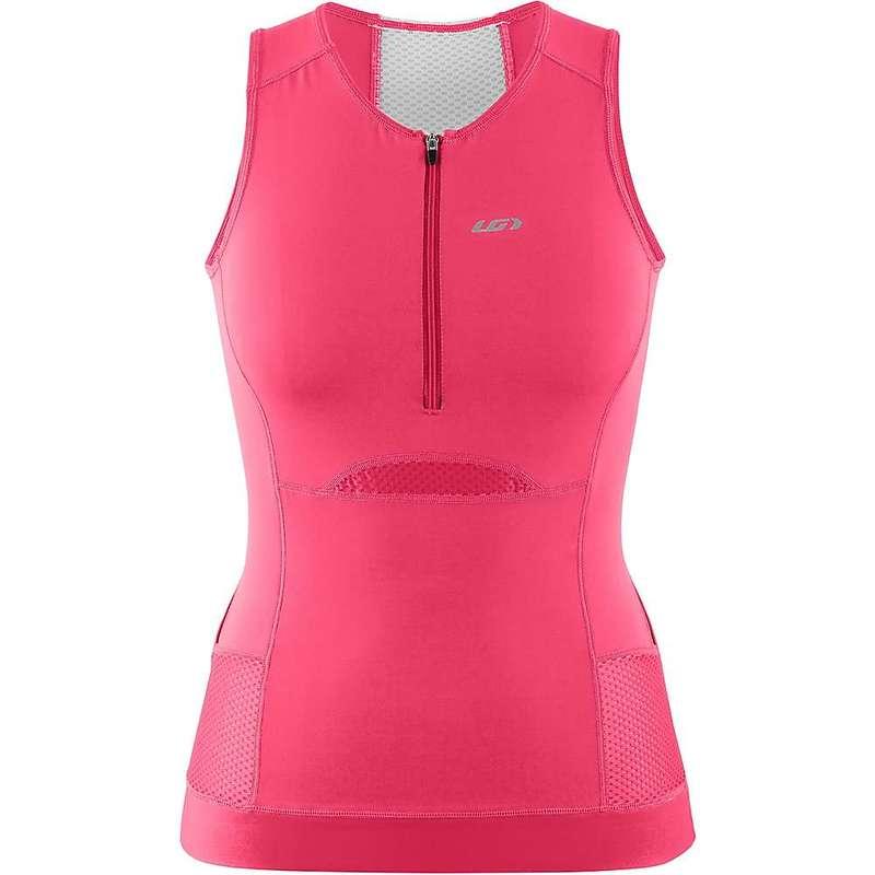 イルスガーナー レディース Tシャツ トップス Louis Garneau Women's Sprint Tri Sleeveless Top Pink Pop