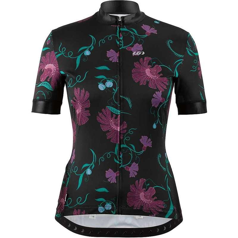 イルスガーナー レディース シャツ トップス Louis Garneau Women's Art Factory Jersey Floral