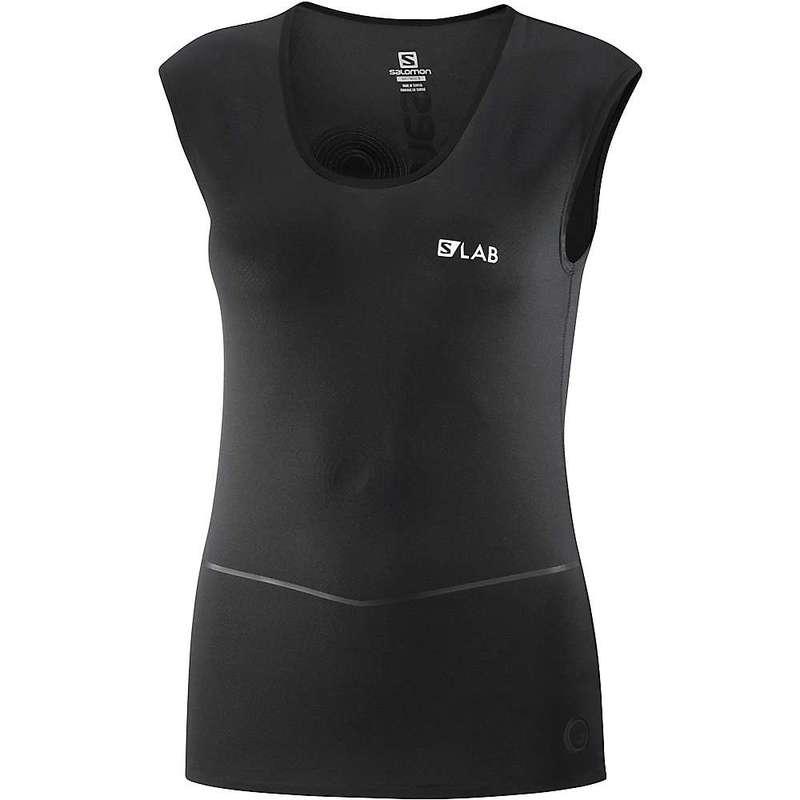 サロモン レディース Tシャツ トップス Salomon Women's S/Lab NSO Sleeveless Tee Black
