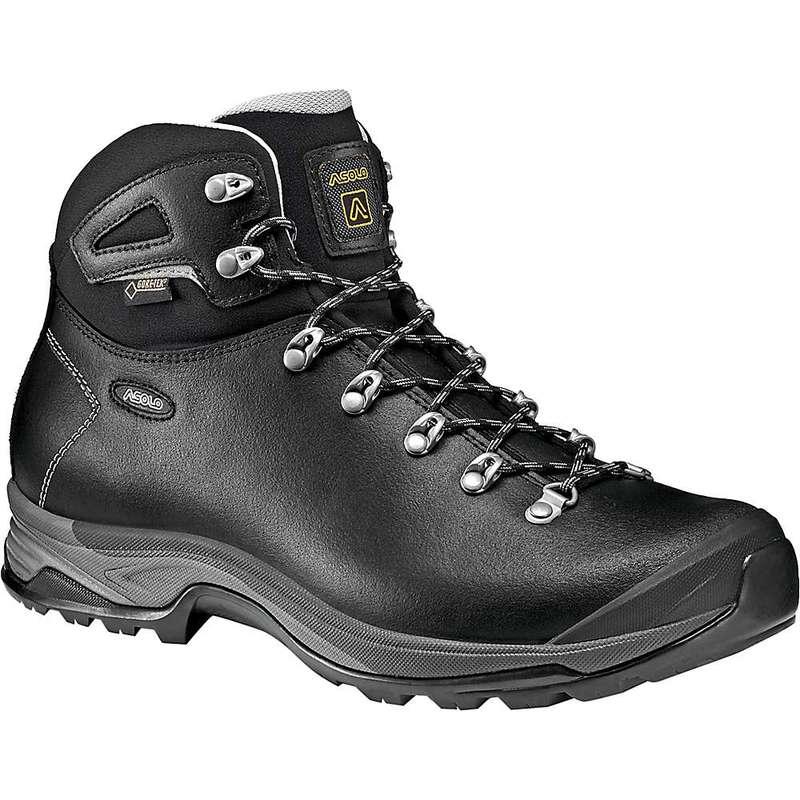 アゾロ メンズ ブーツ・レインブーツ シューズ Asolo Men's Thyrus GV Boot Black / Black