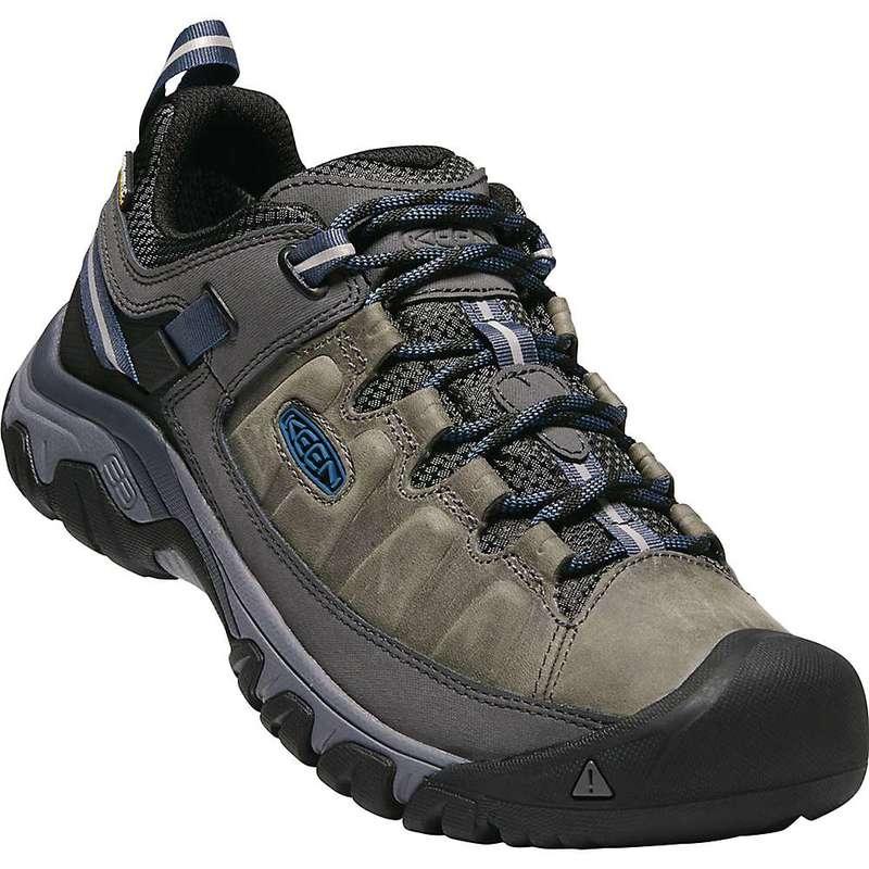 キーン メンズ ブーツ・レインブーツ シューズ Keen Men's Targhee III Waterproof Shoe Steel Grey / Captains Blue