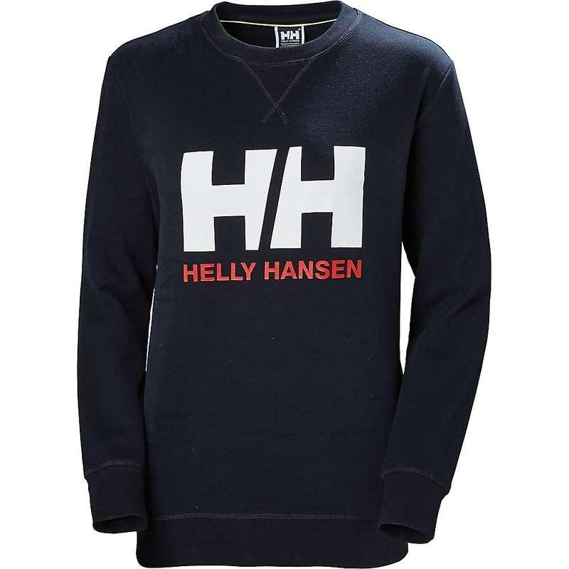 ヘリーハンセン レディース シャツ トップス Helly Hansen Women's HH Logo Crew Sweat NAVY