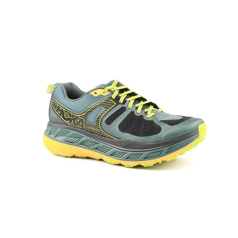 ホッカオネオネ メンズ スニーカー シューズ Hoka One One Men's Stinson Atr 5 Shoe Mallard Green / Gold Fusion