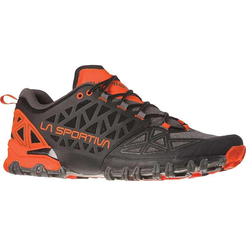ラスポルティバ メンズ スニーカー シューズ La Sportiva Men's Bushido II Shoe Carbon / Tangerine