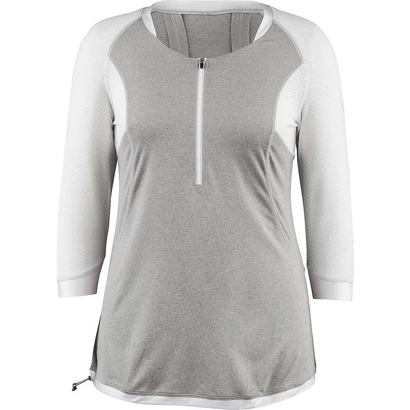 イルスガーナー レディース シャツ トップス Louis Garneau Women's Milan 2 Jersey Gray / White