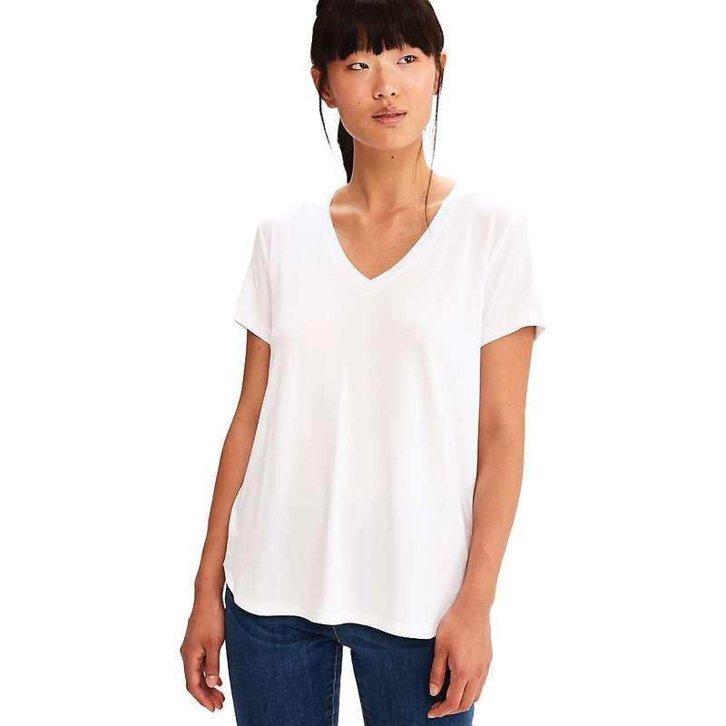 ロル レディース Tシャツ トップス Lole Women's Agda V-Neck Top White